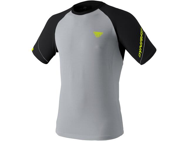 Dynafit Alpine Pro T-Shirt Heren, grijs/zwart